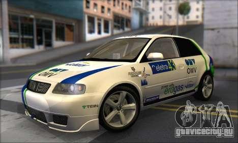 Audi A3 1999 для GTA San Andreas двигатель