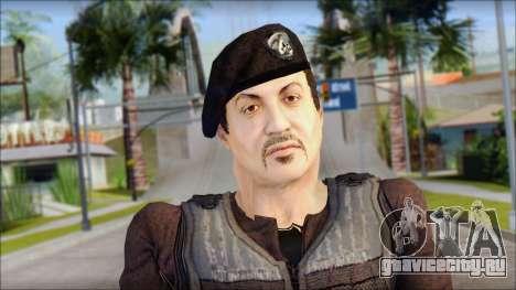 Barney Ross для GTA San Andreas третий скриншот