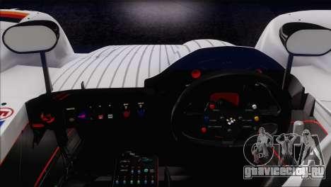 BMW 14 LMR 1999 для GTA San Andreas вид снизу