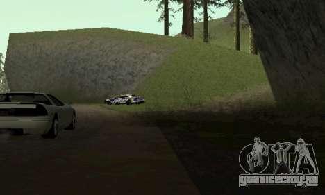 Ford Taurus HSO Police для GTA San Andreas вид сзади слева