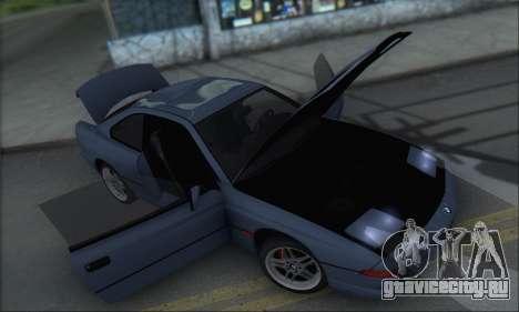 BMW E31 850CSi 1996 для GTA San Andreas вид сбоку