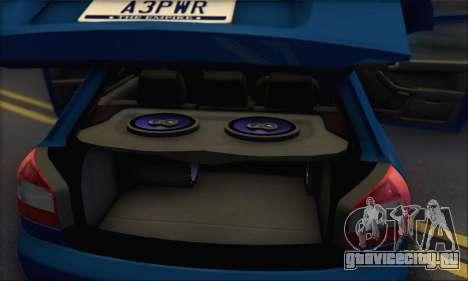 Audi A3 1999 для GTA San Andreas салон