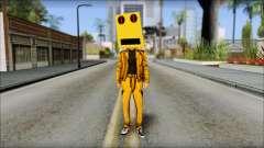 Robot Head LMFAO для GTA San Andreas
