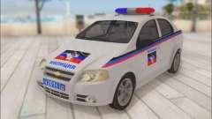 Chevrolet Aveo Милиция ДНР