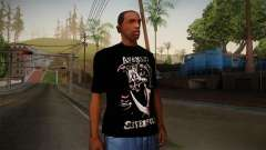Avenged Sevenfold Reaper Reach T-Shirt для GTA San Andreas