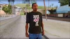 Just Do It NIKE Shirt для GTA San Andreas
