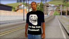 Trollface and Forever Alone T-Shirt для GTA San Andreas