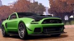 Ford Mustang GT 2014 Custom Kit для GTA 4