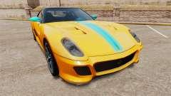 Ferrari 599 GTO PJ2 для GTA 4