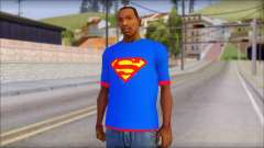 Superman T-Shirt v1 для GTA San Andreas