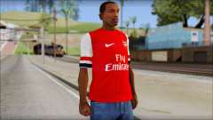 Arsenal FC Giroud T-Shirt для GTA San Andreas