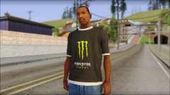Monster T-Shirt Black для GTA San Andreas