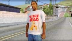 N1KE Head T-Shirt для GTA San Andreas