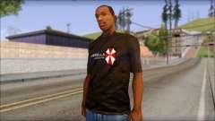 Umbrella Corporation Black T-Shirt для GTA San Andreas