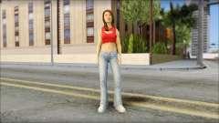 Young Street Girl для GTA San Andreas