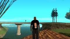 Футболка Paul Walker для GTA San Andreas