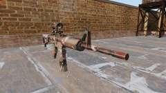 Автоматический карабин М4А1 Forest Camo для GTA 4