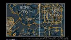 Карта в гоночном стиле Trace Map