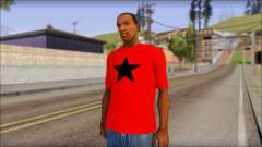 Vidick from Infected Rain Red T-Shirt для GTA San Andreas