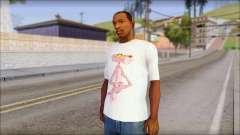 Pink Panther T-Shirt Mod для GTA San Andreas