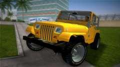 Jeep Wrangler 1986 v4.0 Fury