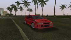 Mitsubishi Lancer Evolution 6 Tommy Makinen Edit для GTA Vice City