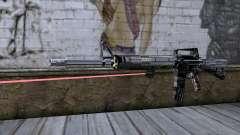 M4A1 с лазерным прицелом для GTA San Andreas