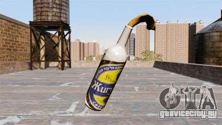 Коктейль Молотова -Жигулёвское- для GTA 4