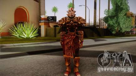 Kratos God Armor для GTA San Andreas