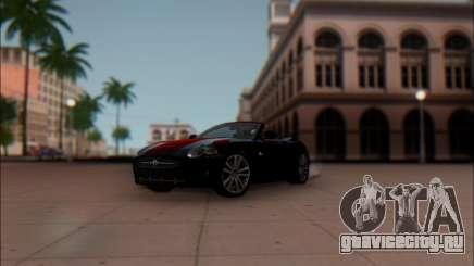 Jaguar XK 2007 для GTA San Andreas