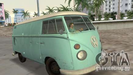 Volkswagen Type 2 T1 Van 1967 для GTA Vice City