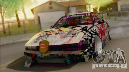 Nissan S13 MAD DRIFT для GTA San Andreas