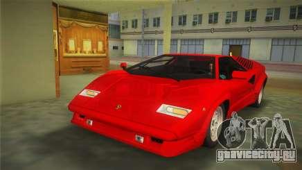 Lamborghini Countach 1988 25th Anniversary для GTA Vice City