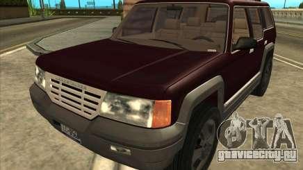 Landstalker from GTA 3 для GTA San Andreas