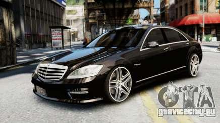 Mercedes-Benz S65 W221 AMG v1.3 для GTA 4