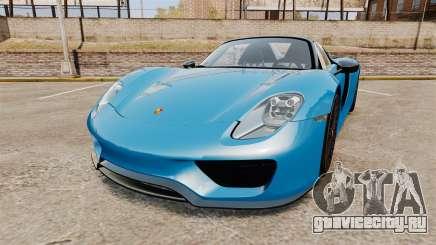 Porsche 918 2013 для GTA 4