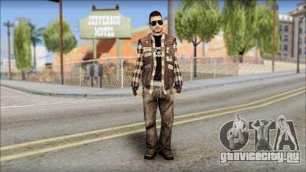 Biker from Avenged Sevenfold для GTA San Andreas