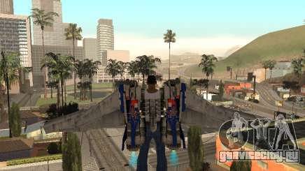 Optimus Jetpack для GTA San Andreas