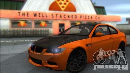 BMW M3 E92 Soft Tuning для GTA San Andreas