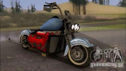 Boss Hoss v8 8200cc для GTA San Andreas
