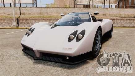 Pagani Zonda C12S Roadster 2001 v1.1 PJ2 для GTA 4