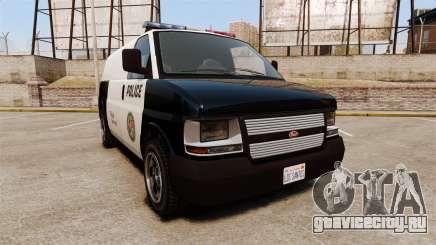 Vapid Speedo Los Santos Police [ELS] для GTA 4