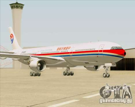 Airbus A330-300 China Eastern Airlines для GTA San Andreas вид сзади слева