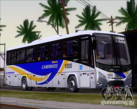Marcopolo Ideale 770 - Volksbus 17-230 EOD для GTA San Andreas вид слева