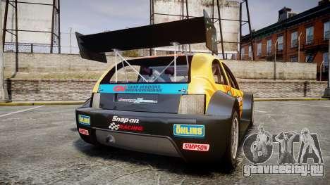 Zenden Cup Snap-On для GTA 4 вид сзади слева