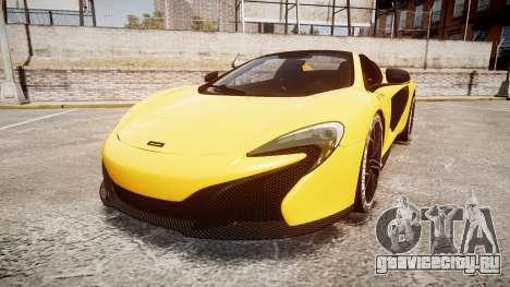 McLaren 650S Spider 2014 [EPM] Michelin v4 для GTA 4