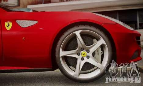 Ferrari FF 2012 для GTA San Andreas вид сзади