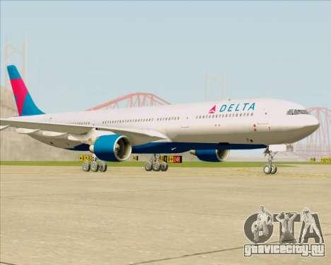 Airbus A330-300 Delta Airlines для GTA San Andreas вид слева