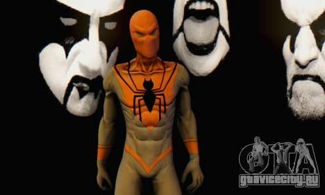 Skin The Amazing Spider Man 2 - Suit Assasin для GTA San Andreas шестой скриншот