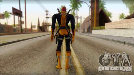 Xmen Deadpool The Game Cable для GTA San Andreas второй скриншот